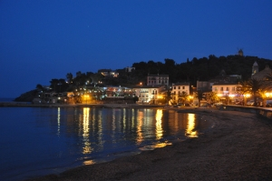 Collioure by night